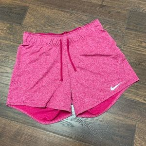 Women's Nike Pink Dri-Fit Flex Training Short